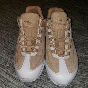 Nike Air Max 95 Tan Vanchetta White Sz10 Brand New